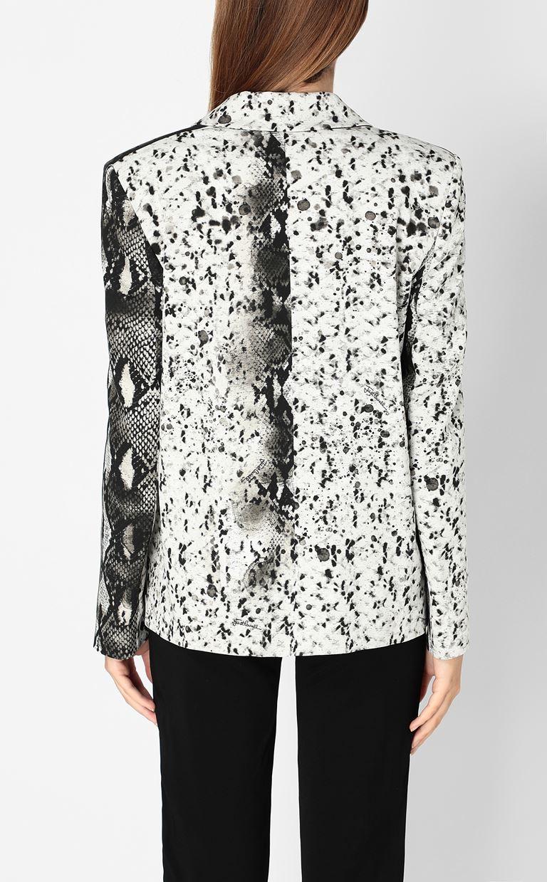 JUST CAVALLI Blazer with python print design Blazer Woman a
