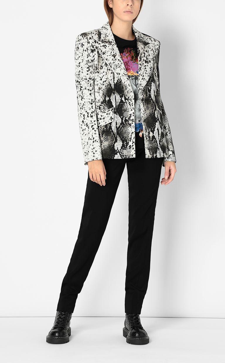 JUST CAVALLI Blazer with python print design Blazer Woman d