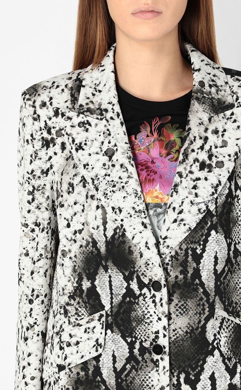 JUST CAVALLI Blazer with python print design Blazer Woman e