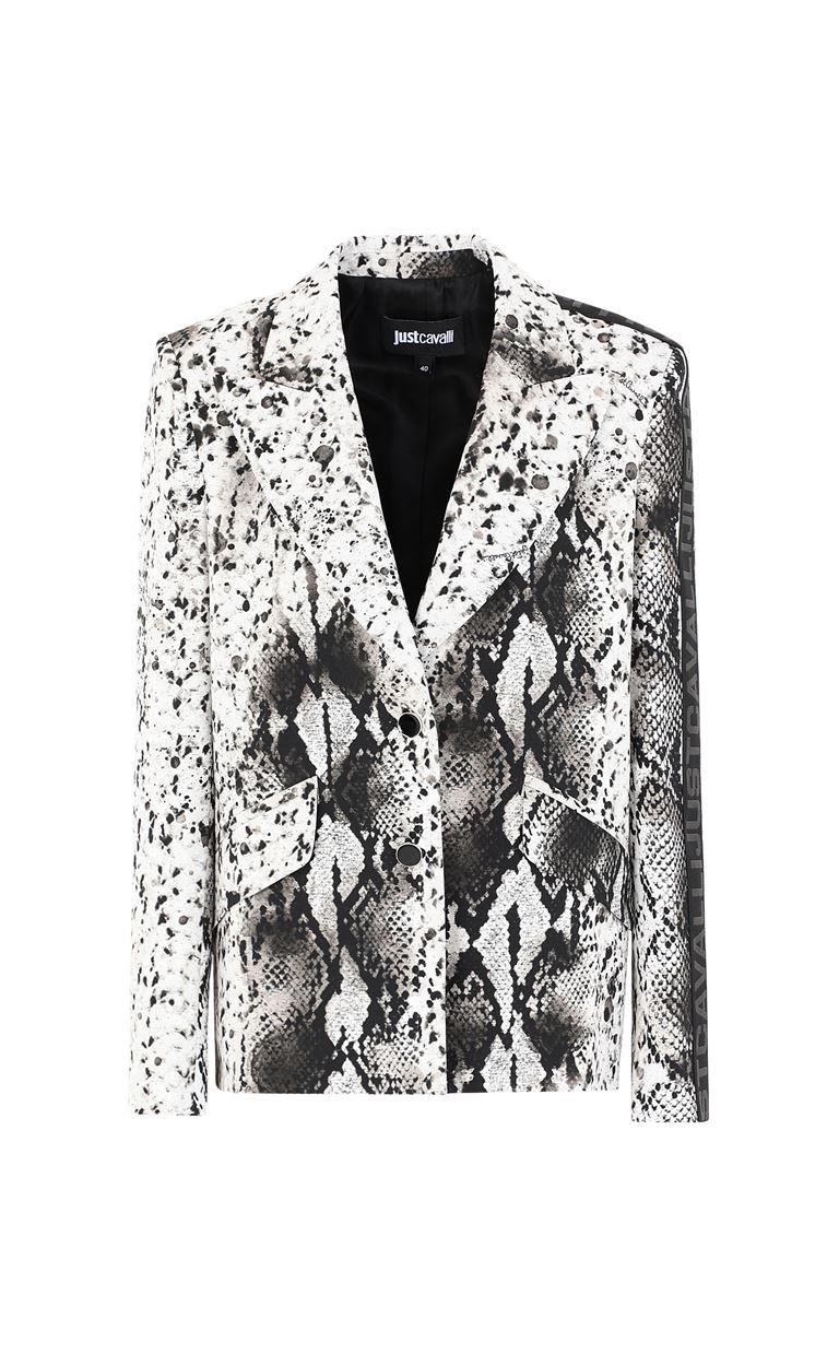 JUST CAVALLI Blazer with python print design Blazer Woman f