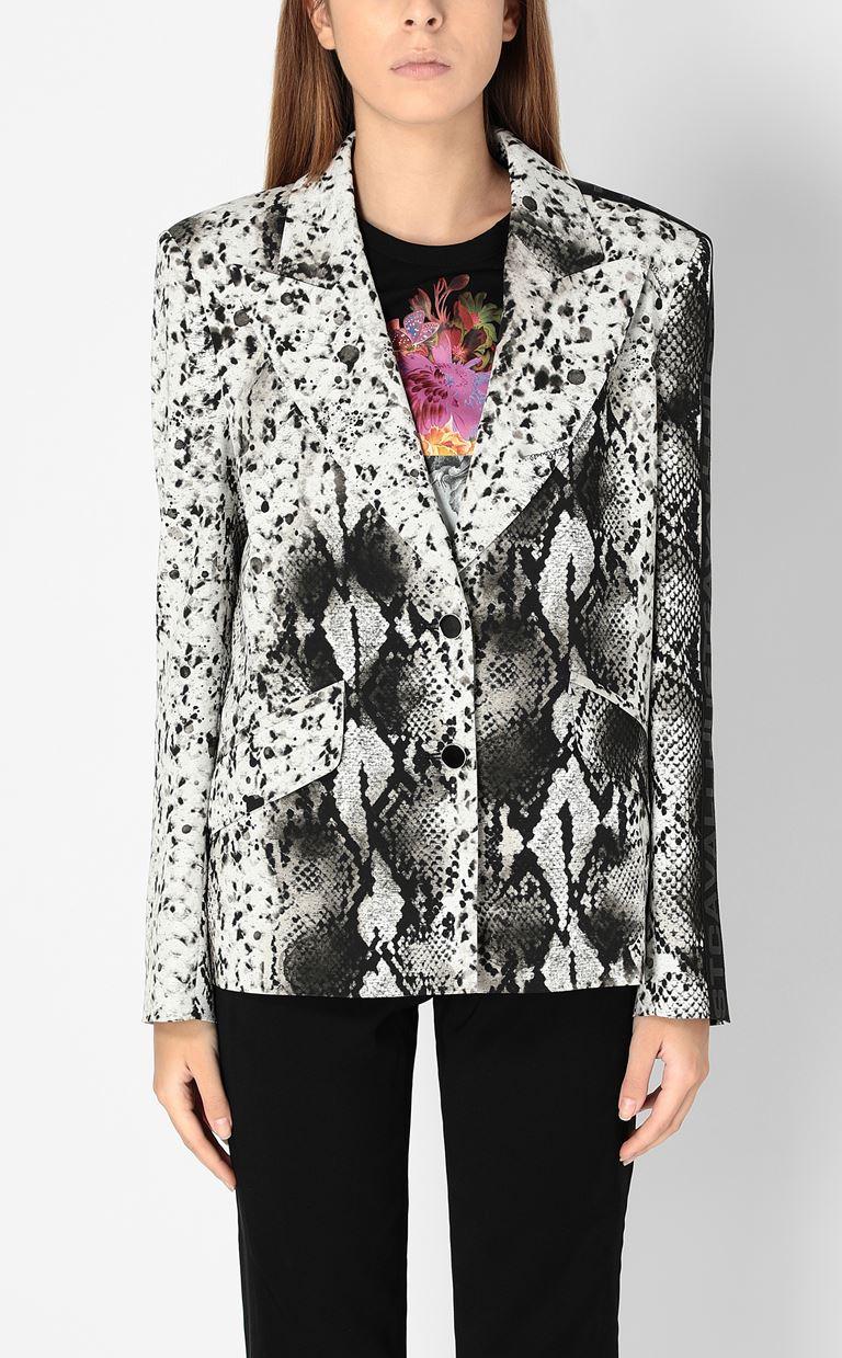 JUST CAVALLI Blazer with python print design Blazer Woman r