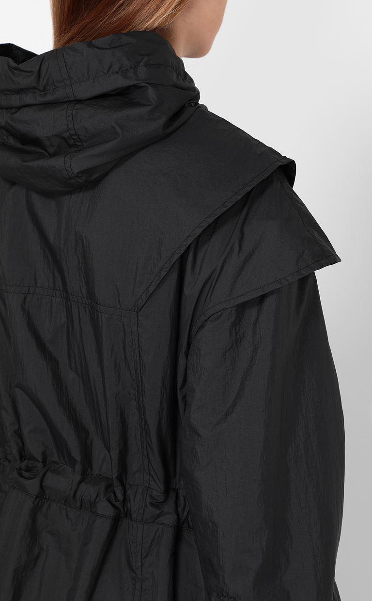 JUST CAVALLI Nylon parka jacket Raincoat Woman e