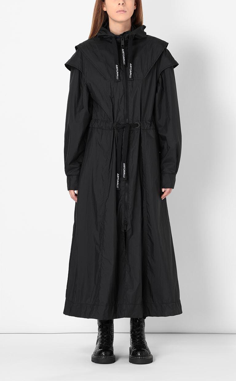JUST CAVALLI Nylon parka jacket Raincoat Woman r