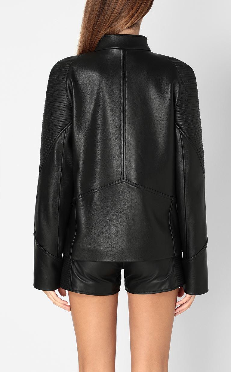 JUST CAVALLI Leather jacket Leather Jacket Woman a