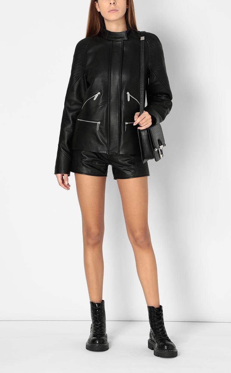 JUST CAVALLI Leather jacket Leather Jacket Woman d
