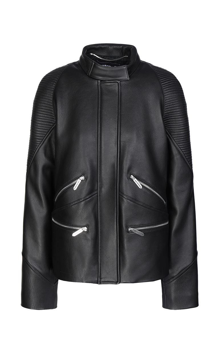 JUST CAVALLI Leather jacket Leather Jacket Woman f