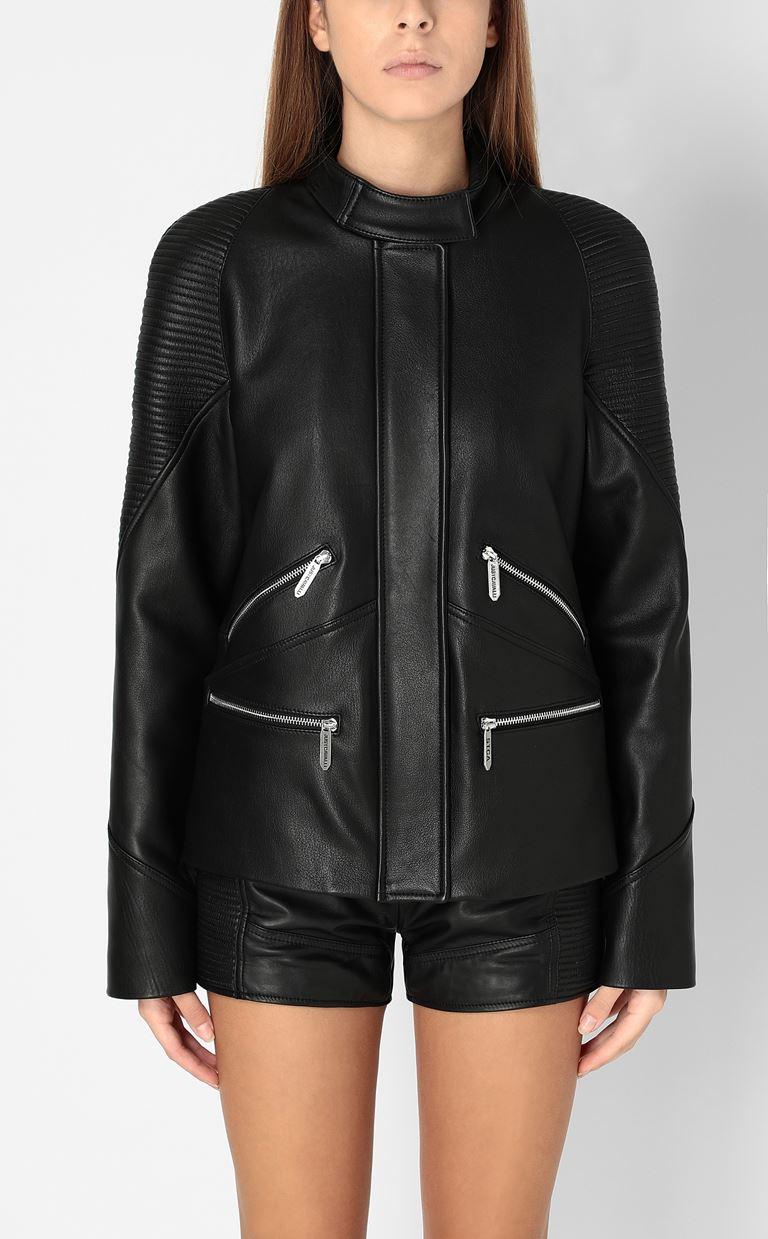 JUST CAVALLI Leather jacket Leather Jacket Woman r