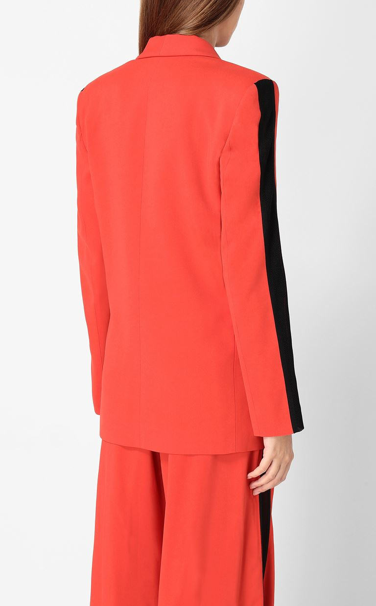 JUST CAVALLI Blazer with mesh detailing Blazer Woman a