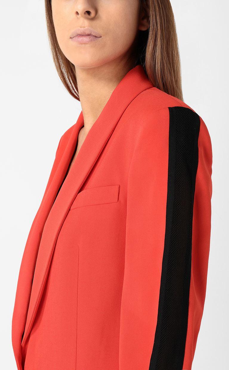 JUST CAVALLI Blazer with mesh detailing Blazer Woman e