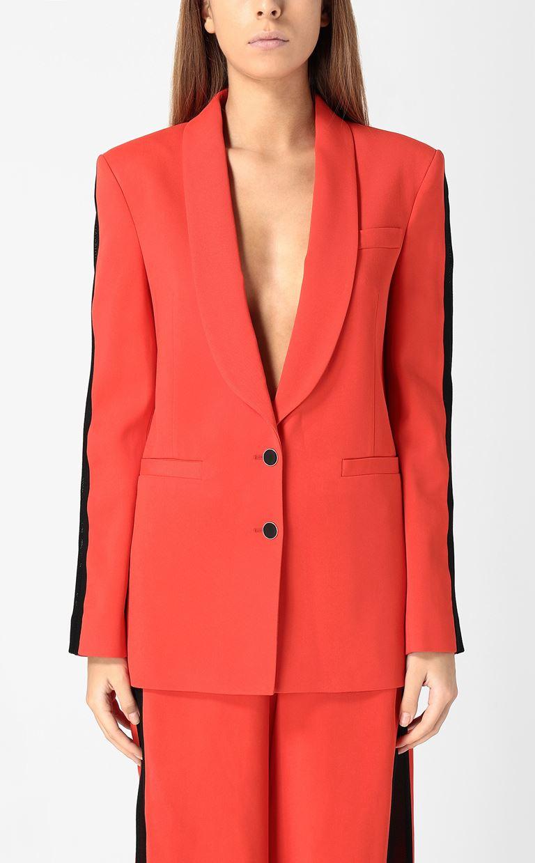 JUST CAVALLI Blazer with mesh detailing Blazer Woman r