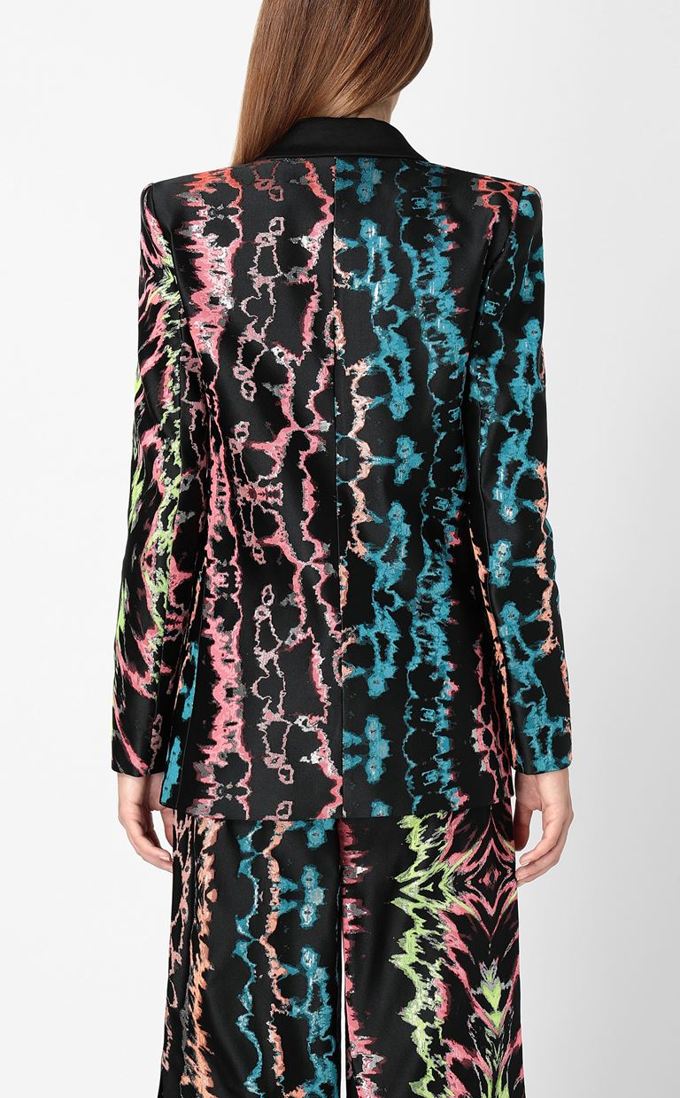 JUST CAVALLI Blazer with print design Blazer Woman a