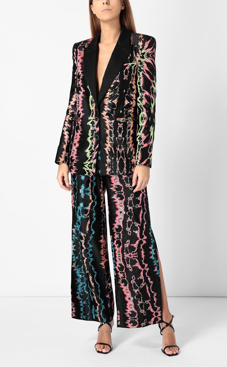 JUST CAVALLI Blazer with print design Blazer Woman d