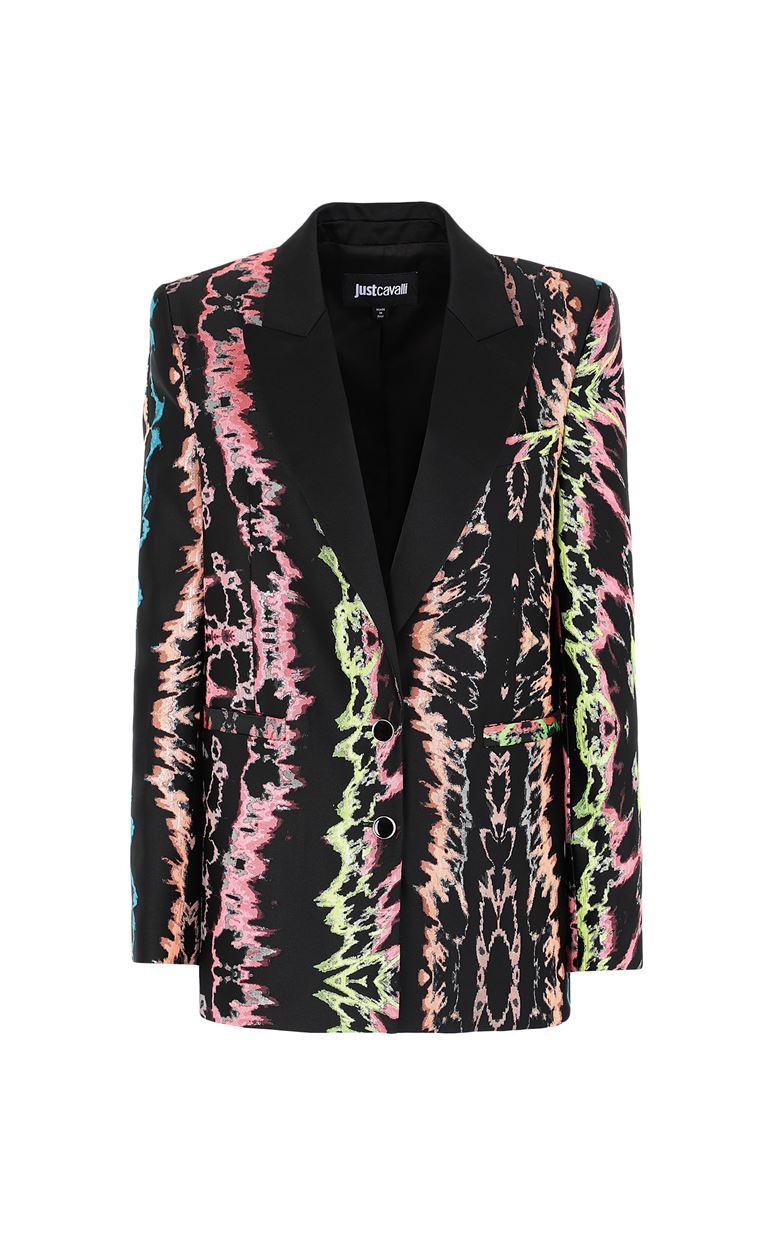 JUST CAVALLI Blazer with print design Blazer Woman f