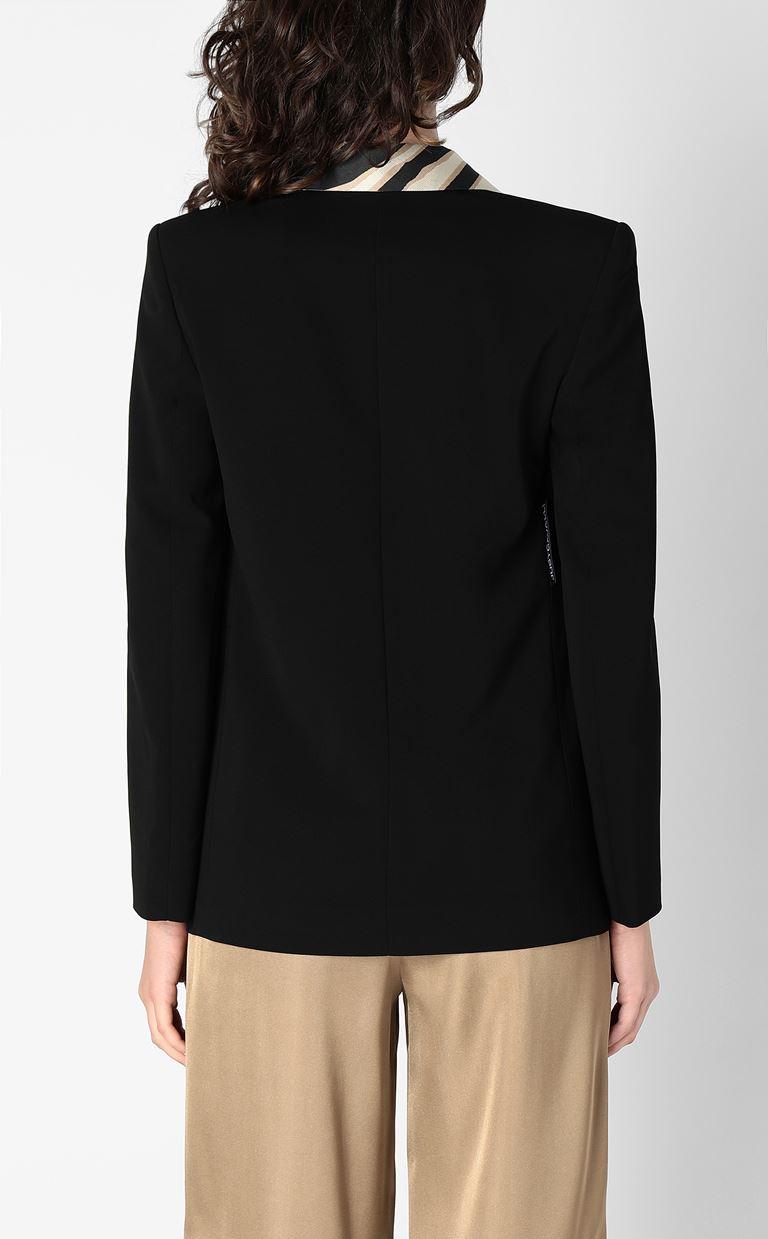 JUST CAVALLI Blazer with contrasting lapels Blazer Woman a