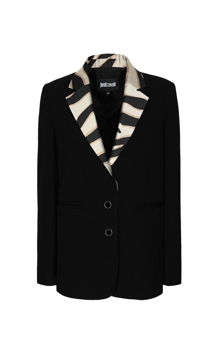 JUST CAVALLI Blazer with contrasting lapels Blazer Woman f