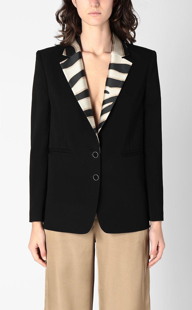 JUST CAVALLI Blazer with contrasting lapels Blazer Woman r