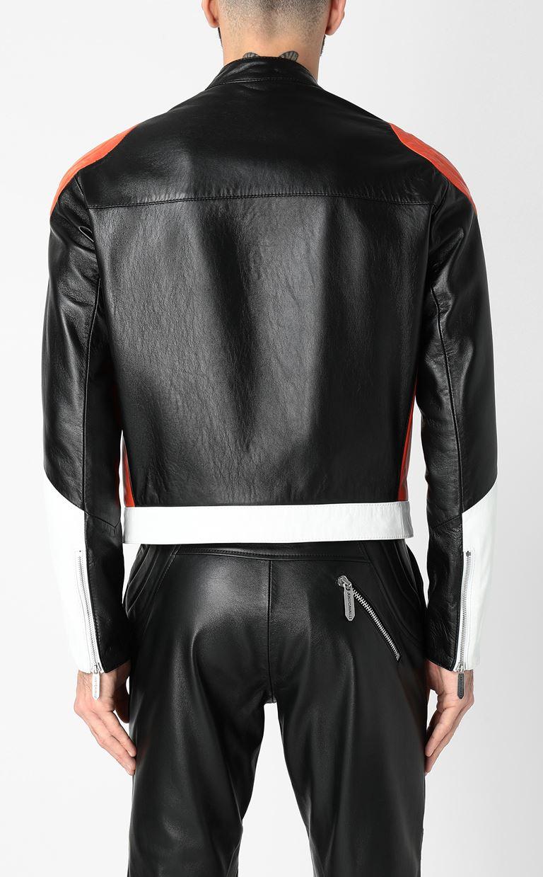 JUST CAVALLI Leather jacket Leather Jacket Man a