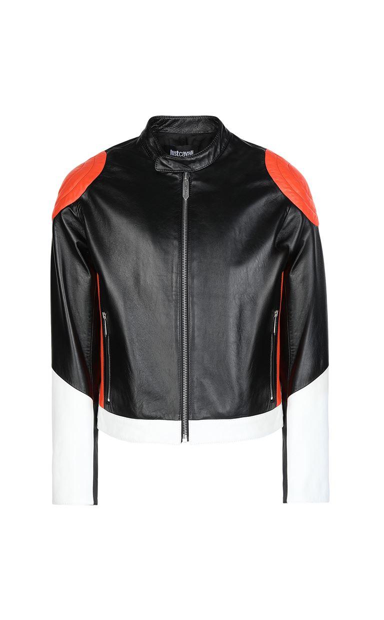 JUST CAVALLI Leather jacket Leather Jacket Man f