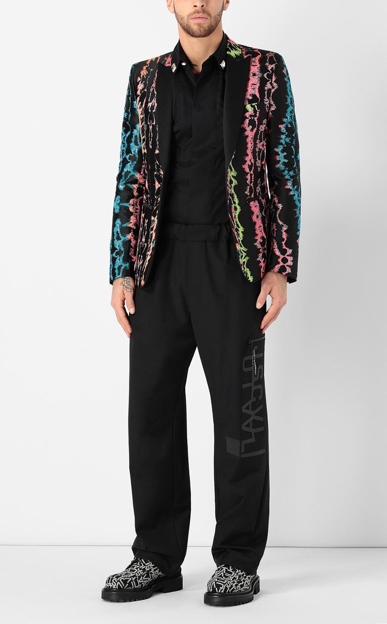 JUST CAVALLI Blazer with print design Blazer Man d