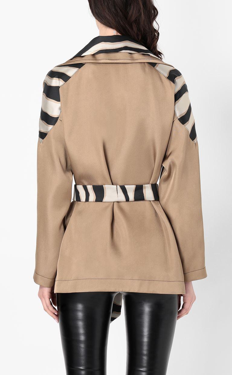 JUST CAVALLI Belted jacket Blazer Woman a