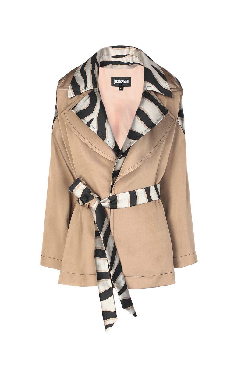 JUST CAVALLI Belted jacket Blazer Woman f