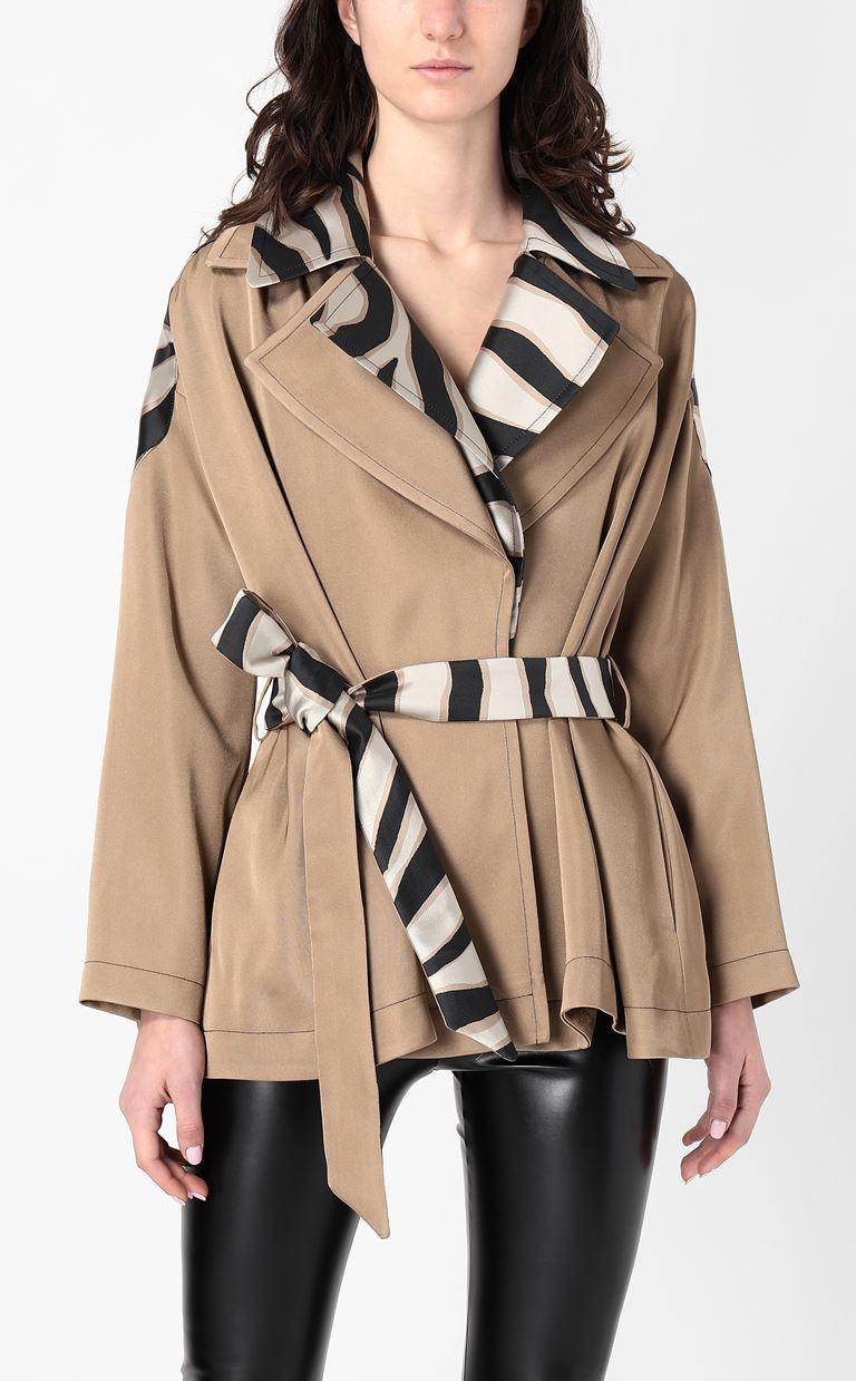 JUST CAVALLI Belted jacket Blazer Woman r