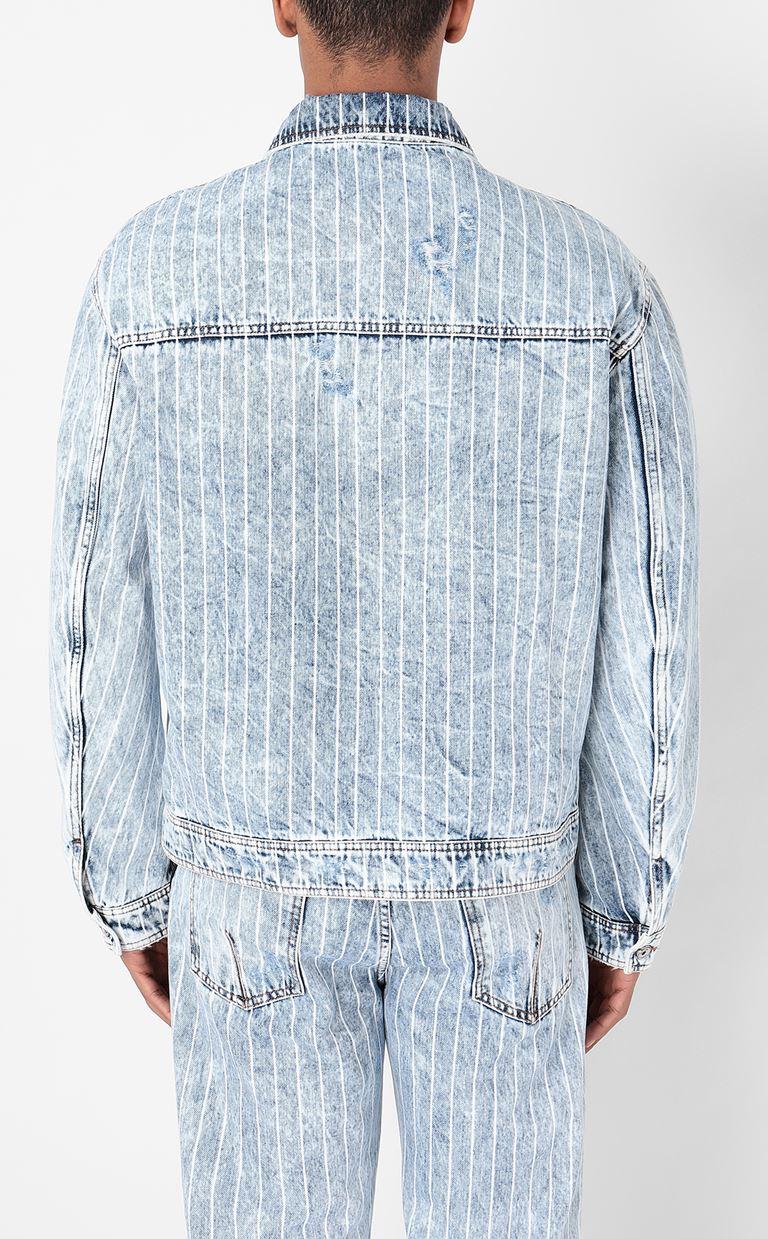 JUST CAVALLI Denim jacket Denim Jacket Man a