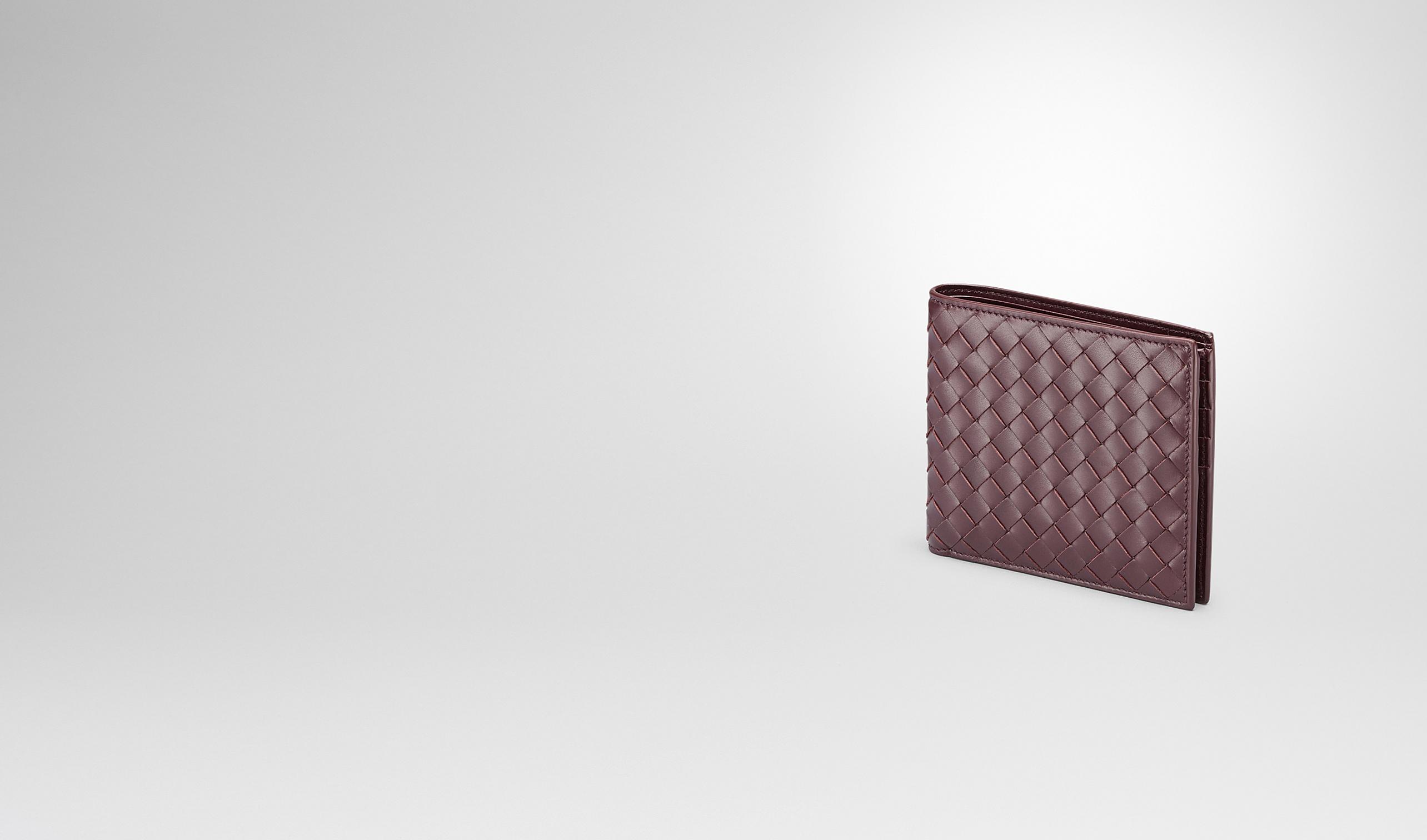 BOTTEGA VENETA Bi-fold Wallet U Aubergine Intrecciato Vn Wallet pl