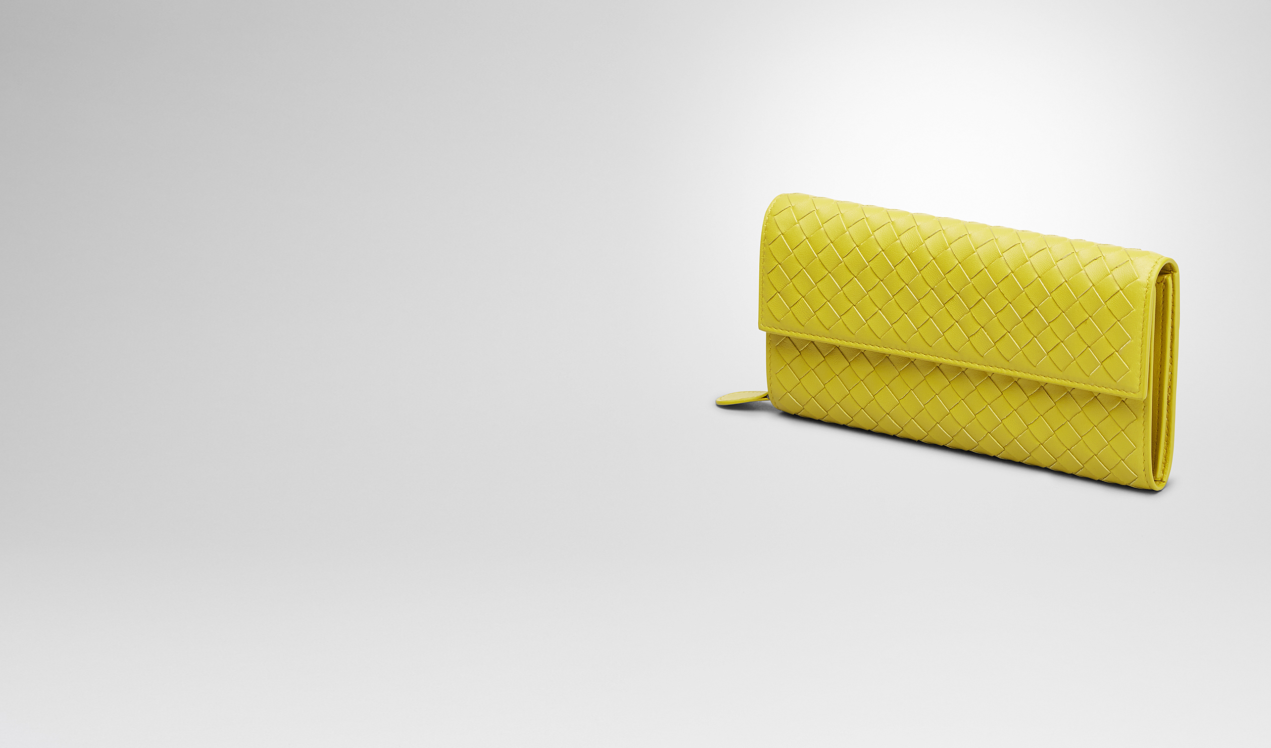 BOTTEGA VENETA Continental Wallet D NEW CHARTREUSE INTRECCIATO NAPPA CONTINENTAL WALLET pl