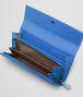 BOTTEGA VENETA SIGNAL BLUE Intrecciato Ayers Livrea CONTINENTAL WALLET Continental Wallet D ap