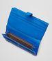 BOTTEGA VENETA Signal Blue Intrecciato Nappa Continental Wallet Continental Wallet D ap