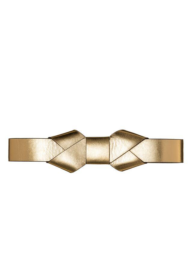 Marni Belt in lambskin origami bow Woman - 1