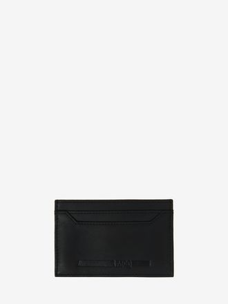 McQ Embossed Leather Card Holder