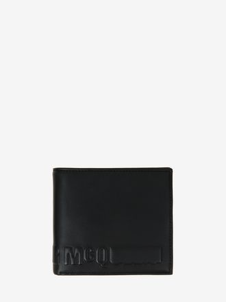 McQ Embossed Fold Wallet