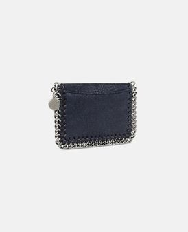 Navy Falabella Shaggy Deer Card Holder