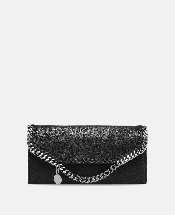 Black Falabella Shaggy Deer Continental Wallet