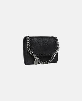 Black Falabella Shaggy Deer Small Wallet