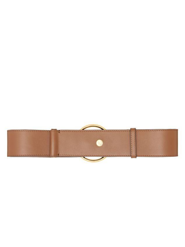Marni Belt in calfskin with ring-shaped buckle  Woman