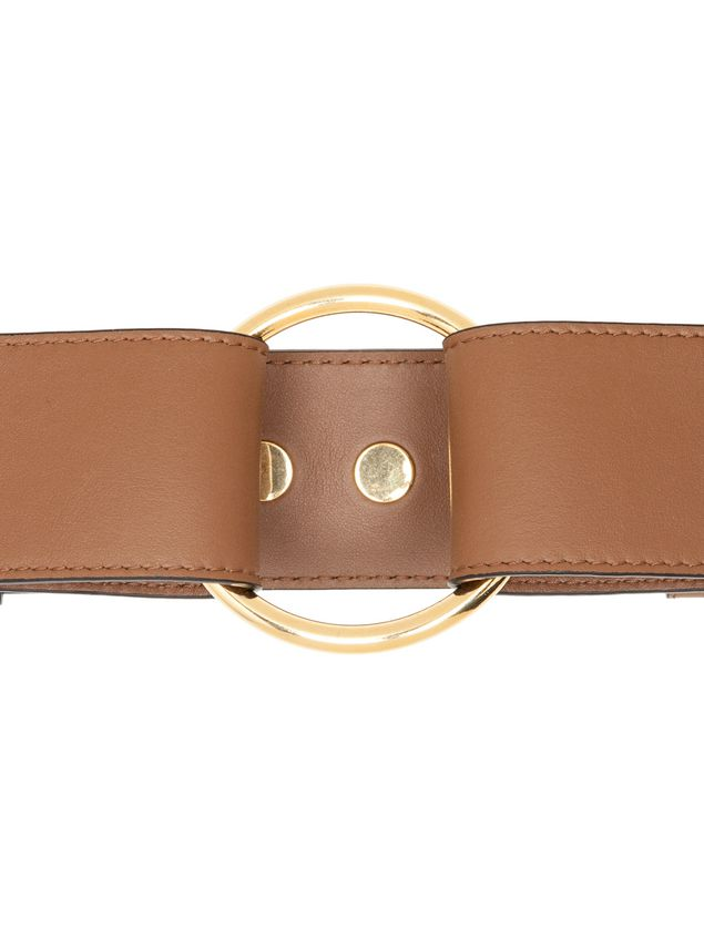 Marni Belt in calfskin with ring-shaped buckle  Woman - 2