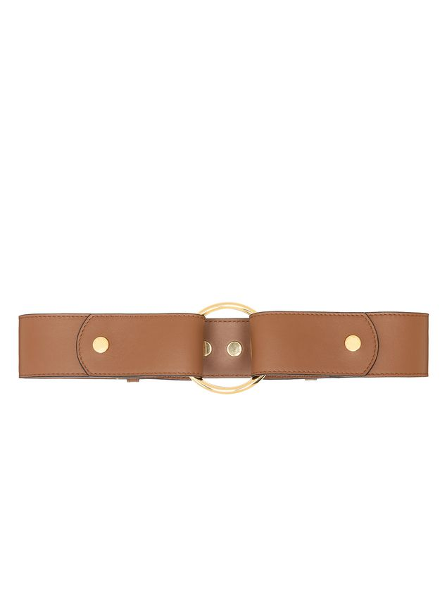 Marni Belt in calfskin with ring-shaped buckle  Woman - 1
