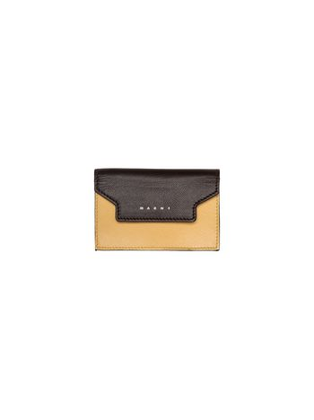 Marni Wallet in Saffiano calfskin TRUNK Woman