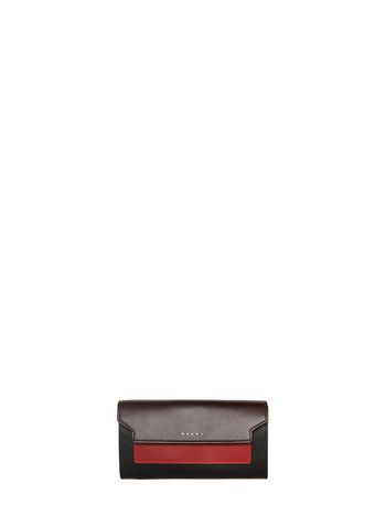 Marni Wallet in saffiano calfskin, TRUNK design Woman