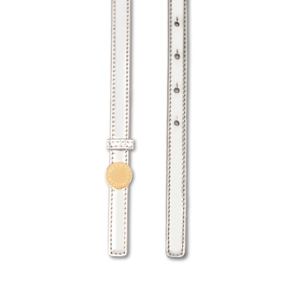 Skinny Metallic Belt        - STELLA MCCARTNEY