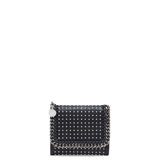 Black Small Falabella Shaggy Deer Wallet