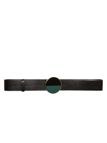 Marni Sheepskin belt with round buckle Woman