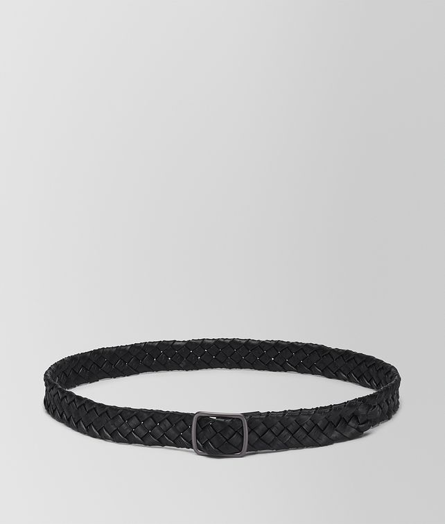 BOTTEGA VENETA BELT IN NERO NAPPA LEATHER Belt U fp