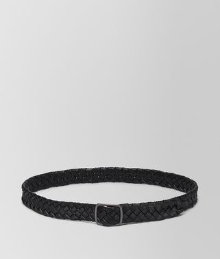 BELT IN NERO NAPPA LEATHER