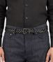 BOTTEGA VENETA BELT IN NERO NAPPA LEATHER Belt U ap
