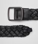 BOTTEGA VENETA BELT IN NERO NAPPA LEATHER Belt U rp