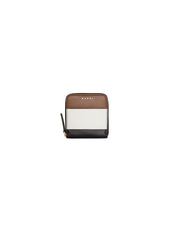 Marni Zip-around wallet in calfskin Woman